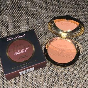 Too faced dark chocolate soleil bronzer NWT